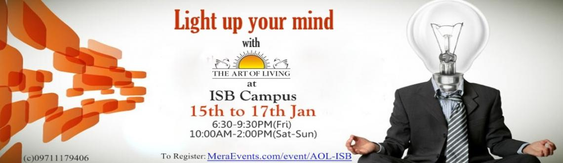 The Art of Living Program @ ISB