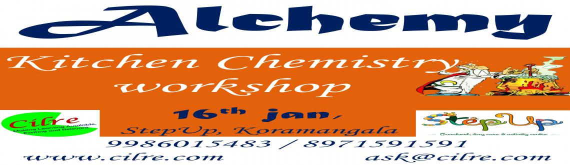 Book Online Tickets for Alchemy - Kitchen Chemistry workshop, Bengaluru. At Alchemy Children will stir their imagination to make their own potion. From making rainbows to creating plastic, they will use everyday things to make magic. While doing these they will also gain an understanding of how potions have help