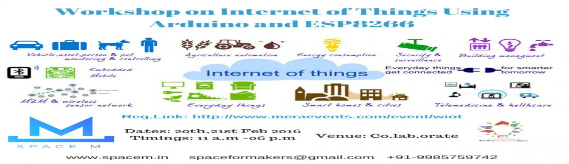 Workshop on Internet of Things using Arduino and ESP8266