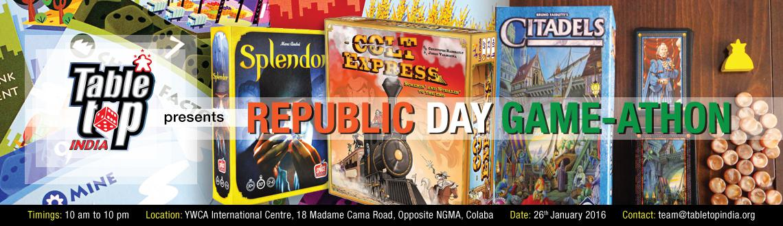 Book Online Tickets for Tabletop India Republic Day 2016 Game-at, Mumbai. 