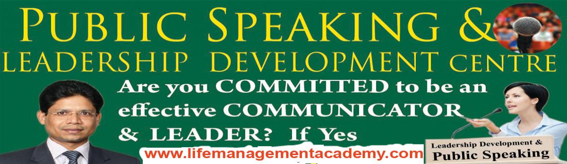 Public Speaking and Leadership Skills Development Training