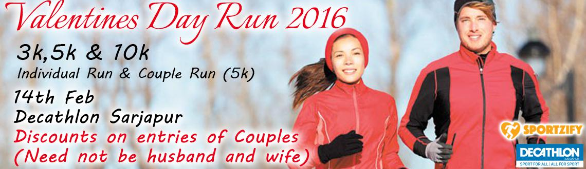 Valentines Day Run 2016 (Bangalore)