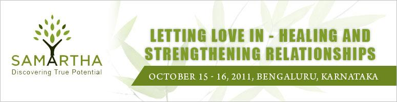 Letting Love In - Healing and Strengthening Relationships