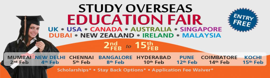 Book Online Tickets for MyEducationFair: Study Overseas Educatio, Nehru Plac. My Education Fair provides the best chance for students to grow academically, professionally, and personally while going on a once-in-a-lifetime adventure. You will get a chance to add a global dimension to your education, by diversifying and broaden
