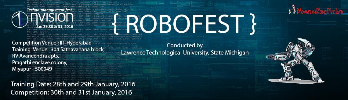 Book Online Tickets for Robofest: International Robotic Competit, Hyderabad. Robofest is a festival of competitions and events with autonomous robots that encourages students to have fun while learning principles of Science, Technology, Engineering, and math (STEM) and Computer Science. Students design, construct, and pr