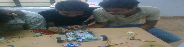 Robotics workshop by Tech Innovates @ Guindy, Chennai on 01-02 Oct. 2011