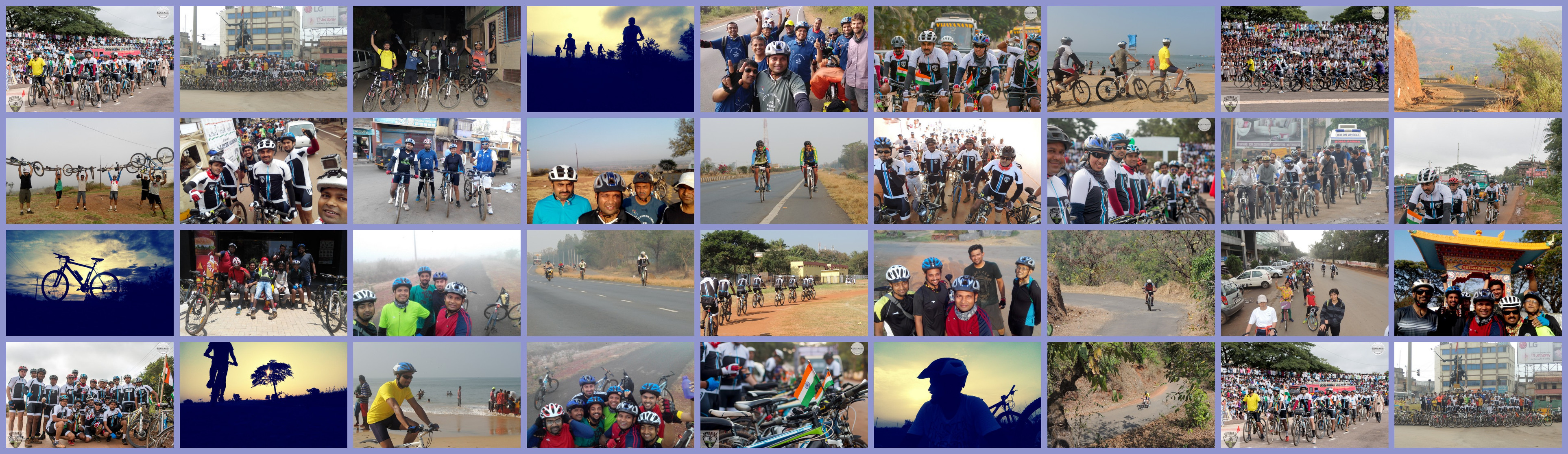Book Online Tickets for Cyclotsava 2016, Hubli. Cyclotsava is an yearly event where we celebrate the spirit of cycling in Hubballi-Dharwad. We will be organizing a fully supported ride of 20Kms & 100Kms where most of the cycle enthusiasts can participate. The route will take you through the co