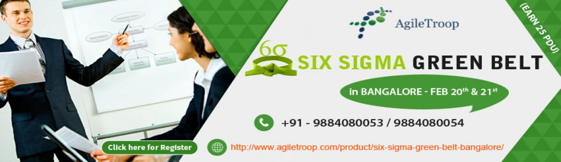 Book Online Tickets for Six Sigma Green Belt Certification in Ba, Bengaluru. Six Sigma Green Belt Certification in Bangalore  Overview Six Sigma Green Belt course focuses on providing students with an understanding of the various Six Sigma tools and techniques useful to improve the production process and minimize def