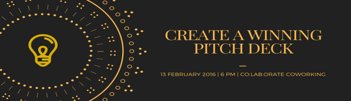 Book Online Tickets for Create a Winning Pitch Deck, Hyderabad. A good pitch makes a good impression. And a good impression lands you that much needed investment, mentorship and guidance. One chance is all you got and it has to be perfect. How do you achieve success?  In this session, we will try to explore the c