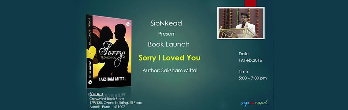 Book Launch - Sorry I loved you