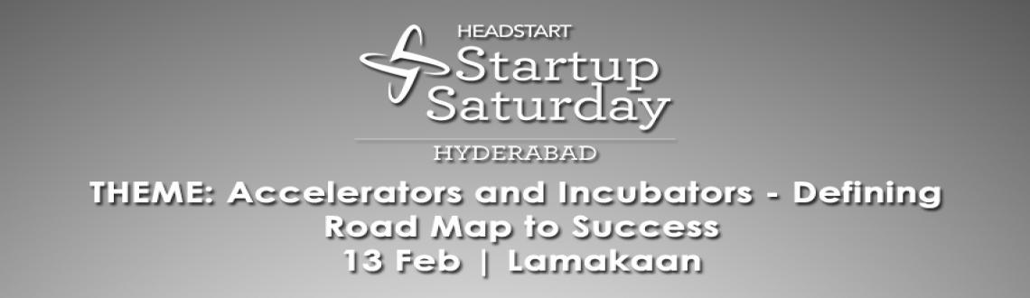 Startup Saturday Hyderabad - February Edition