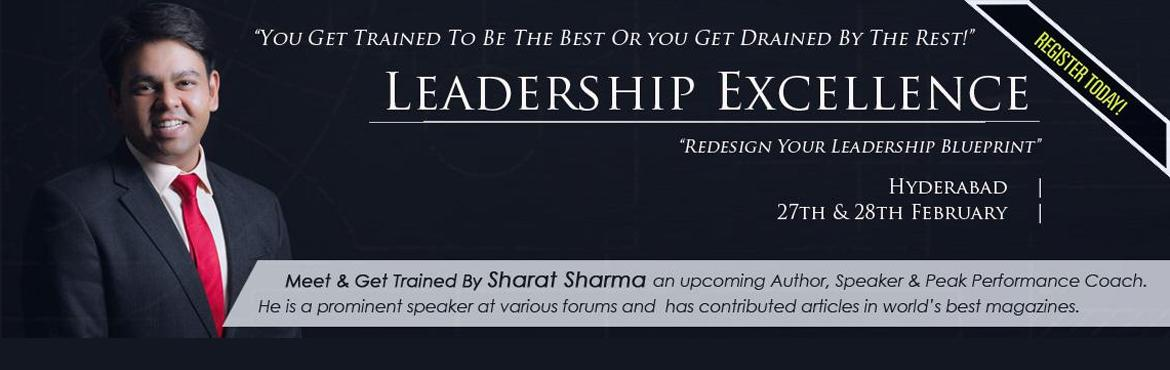 Leadership Excellence Workshop Hyderabad Feb