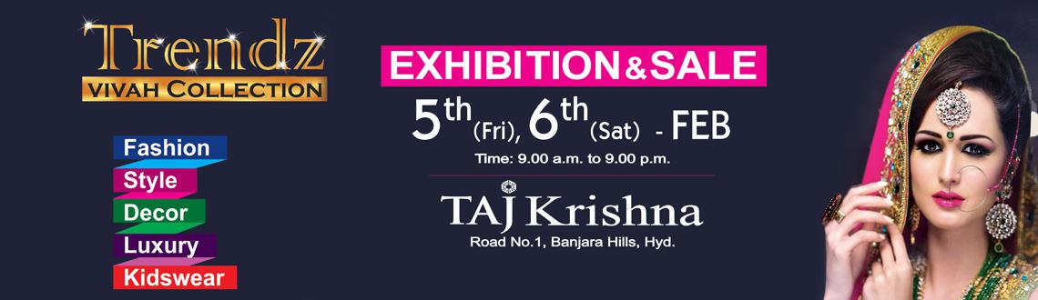 Book Online Tickets for Trendz Vivah collection- Lifestyle Exhib, Hyderabad.