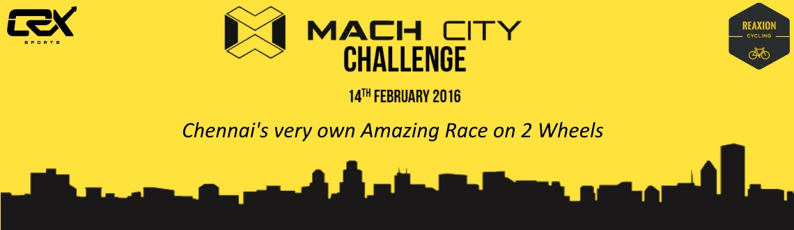 Book Online Tickets for Mach City Challenge - 14th February, Chennai.  