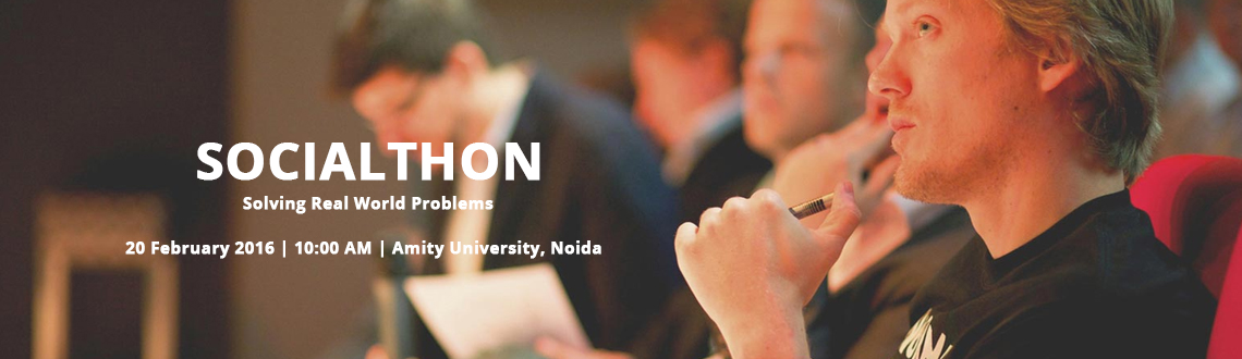 Socialthon - Solving Real World Problems