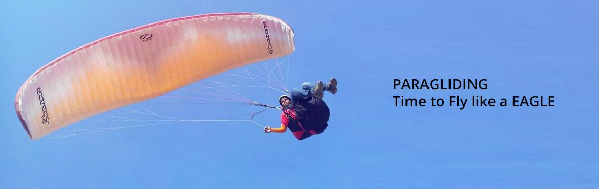 Book Online Tickets for PARAGLIDING - Time to Fly like a EAGLE o, Pune. PARAGLIDING - Time to Fly like a EAGLE on 28-FebruaryType of Paragliding - TANDEM FLIGHTSDifficulty Level - EasyDuration - 12-15 Minutes into the INFINITE Sky with ExpertsAge Group – 8 & AboveSpecial Note - This Adventure sport is dependent