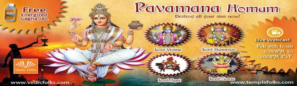 Book Online Tickets for Pavamana Homam - Destroy all your sins n, Chennai. Pavamana Homam - Destroy all your sins now!  Live Webcast on 8th February 2016 @6.00PM - 9.00PM IST