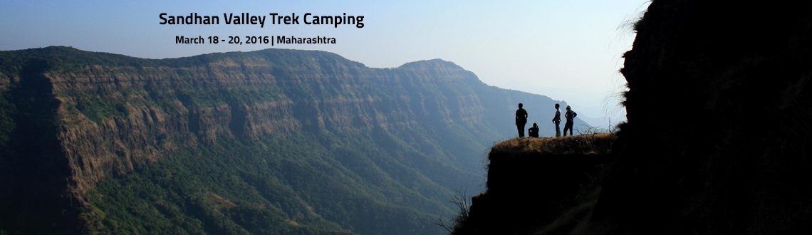 Book Online Tickets for  Sandhan Valley Trek  Camping, Akole. Information About Sandhan Valley:-Sandhan Valley Trek is a unique experience combining adventure activities such as Rappelling and staying amidst nature. Sandhan valley is a water carved valley around 200 feet deep. Sandhan is located near beautiful