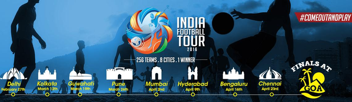 Book Online Tickets for  India Football Tour - Guwahati, Guwahati. 