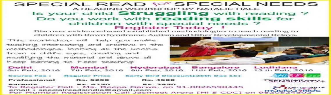 Special Read for Special Needs - A Reading Workshop by Natalie Hale