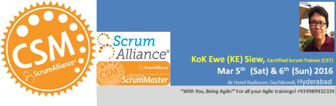 ScrumAllinace Certified ScrumMaster (CSM) Workshop