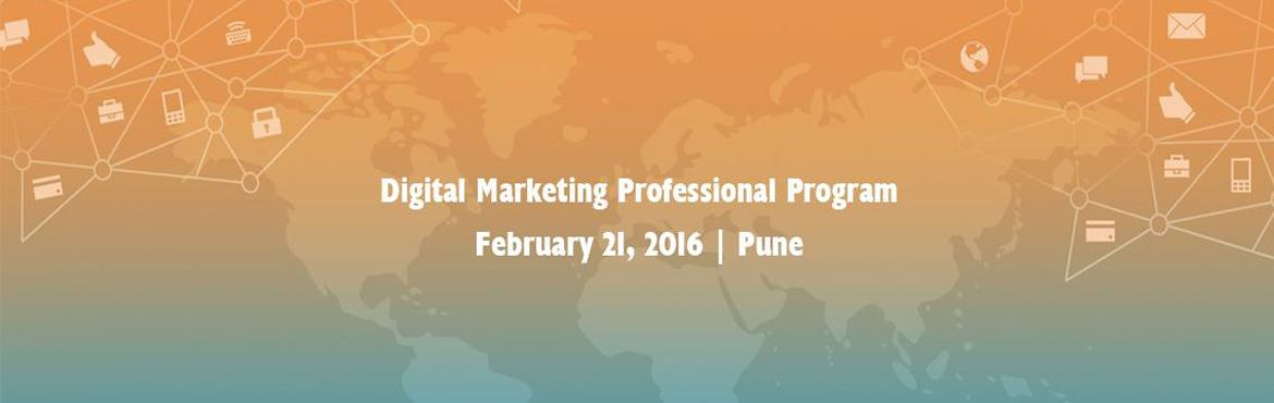 Book Online Tickets for Digital Marketing Professional Program i, Pune. Manipal ProLearn is conducting Digital Marketing Professional Program to educate students in the areas of Digital Marketing. 3-month course spanning 80 hours of learning engagement (40 hrs classroom training, 20 hrs e-learning & 20 hrs project).