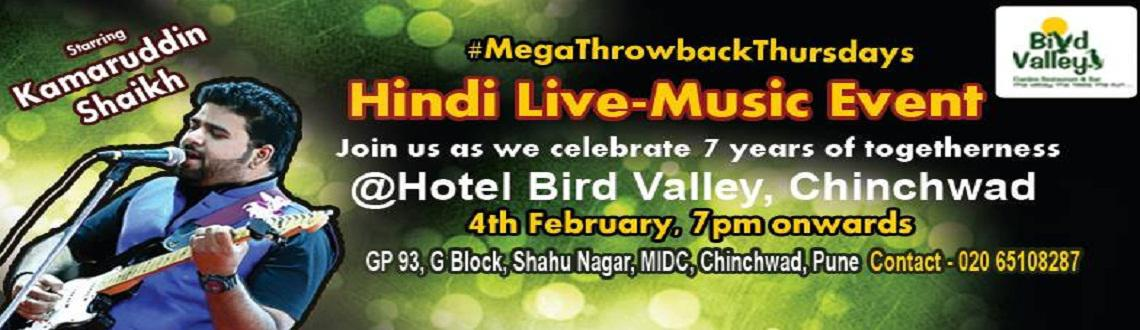 Thursday live music events in Chinchwad @Bird Valley garden restaurant, Pune