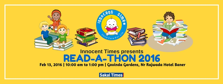 Book Online Tickets for READ-A-THON, Pune. 