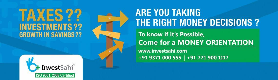 FREE MONEY ORIENTATION for FINANCIAL YEAR ENDING Blues by InvestSahi