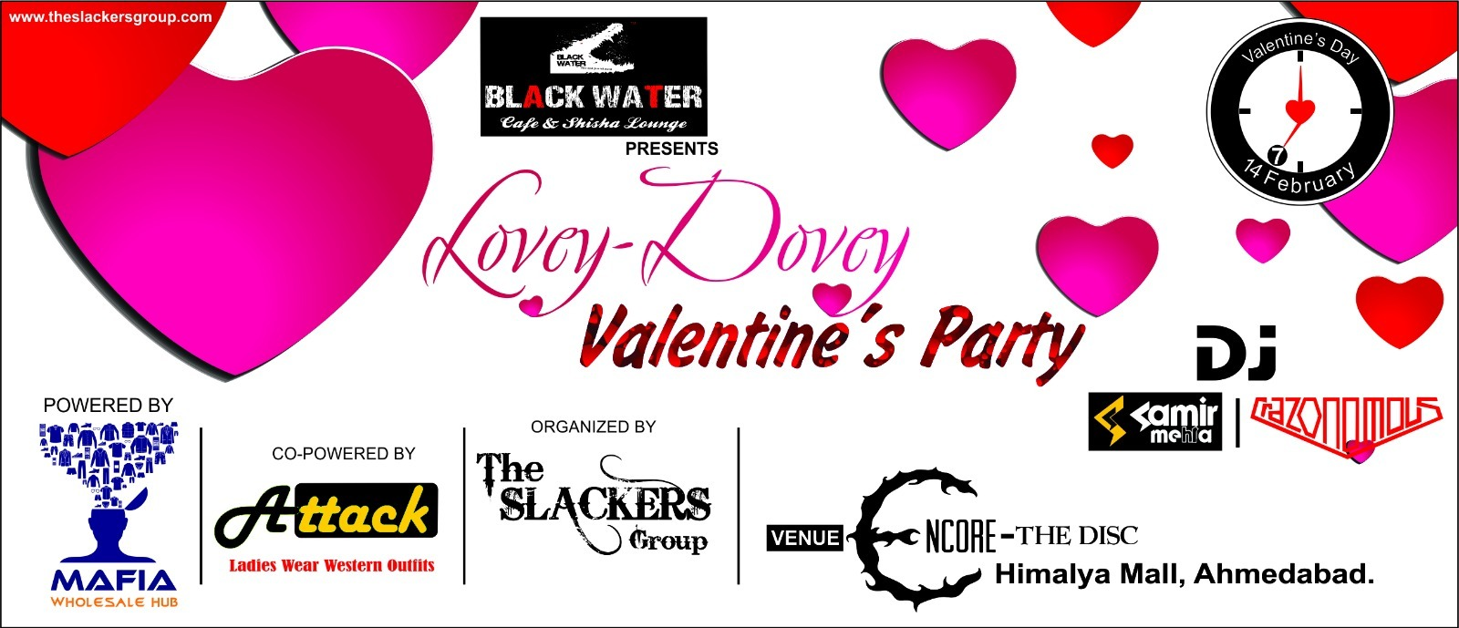 Lovey-Dovey Valentines Party