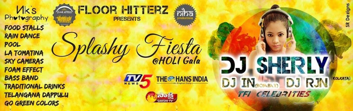 Splashy Fiesta - HOLI gala at D Lake view resorts