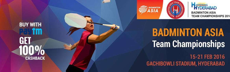 Badminton Asia Team Championships 2016