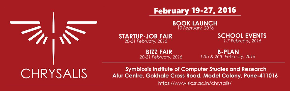 Chrysalis 2016 (Startup Job Fair) - walking interview, Internship