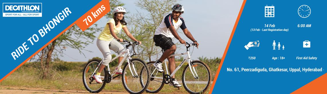 DECATHLON Uppal To Bhongir Fort Ride(35km)