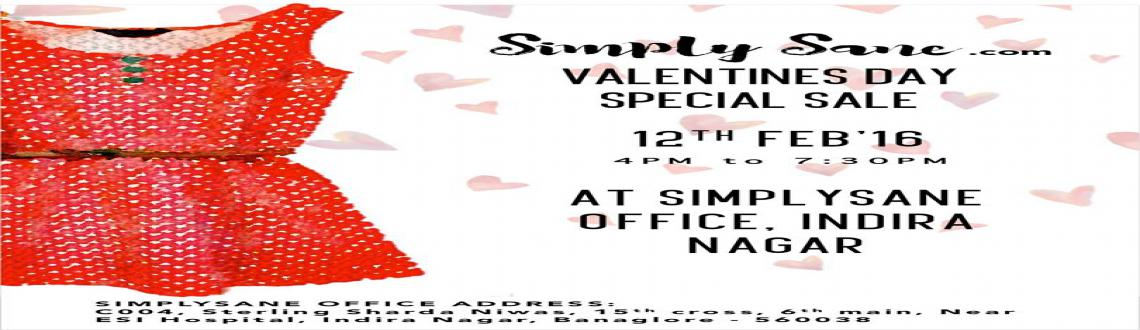 Book Online Tickets for SimplySane Valentines Special Mini-PopUp, Bengaluru. SimplySane is an online community market place for women to buy and sell their like-new pre-owned fashion pieces. After a fantastic respone to our previous popup shops, we are organising a mini popup shop especially for Valentine\\\'s Day \\\'16 on t