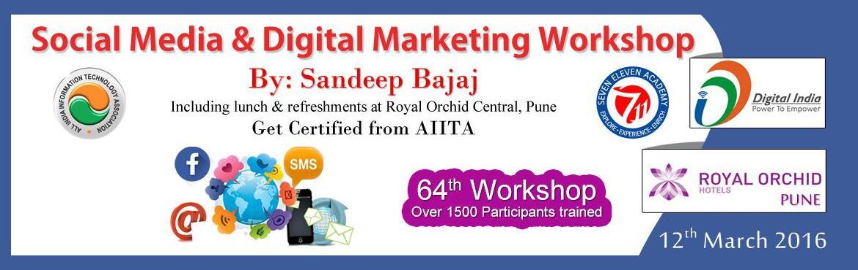 Social Media  Digital Marketing Workshop in Pune