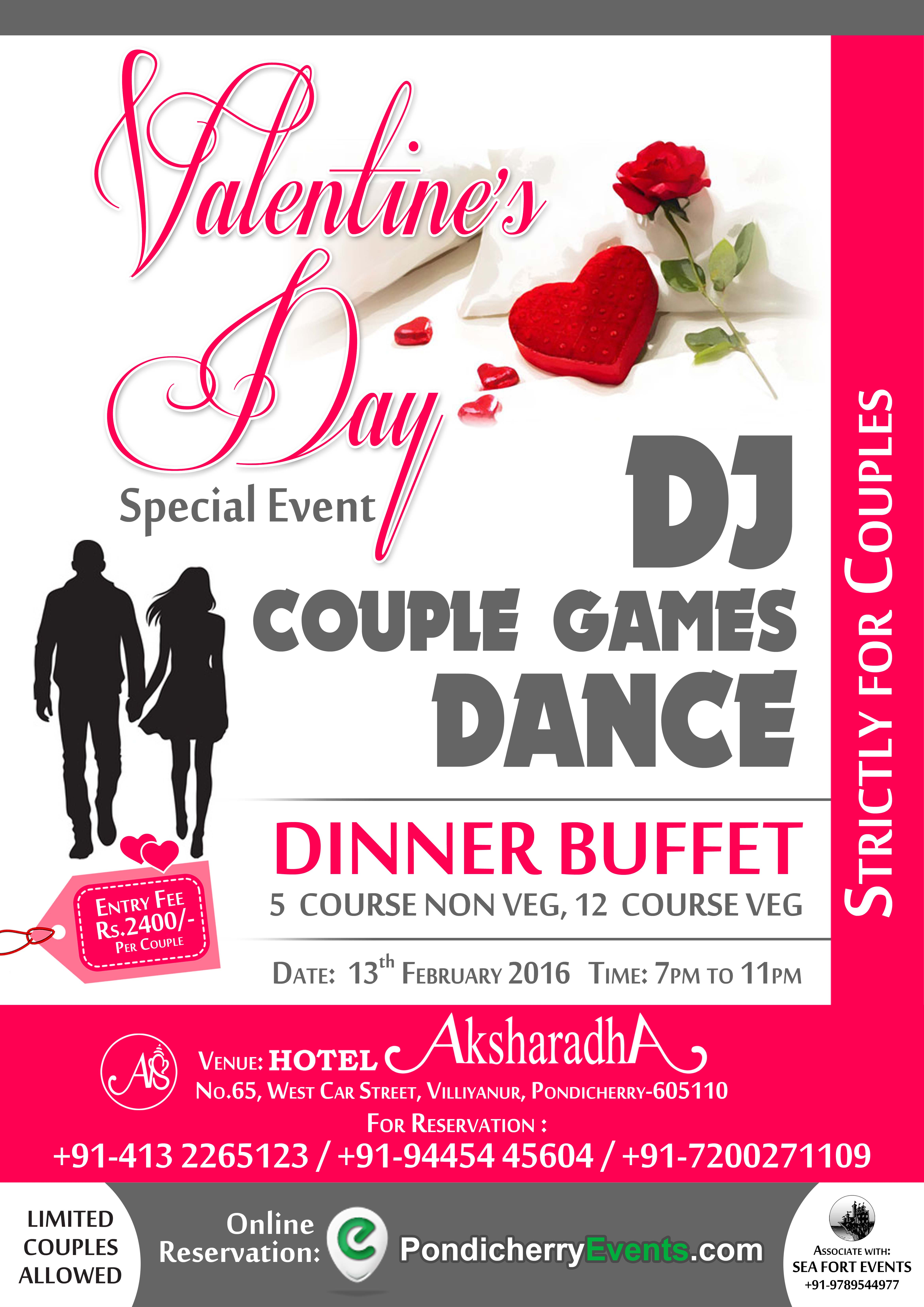 Valentines day special event