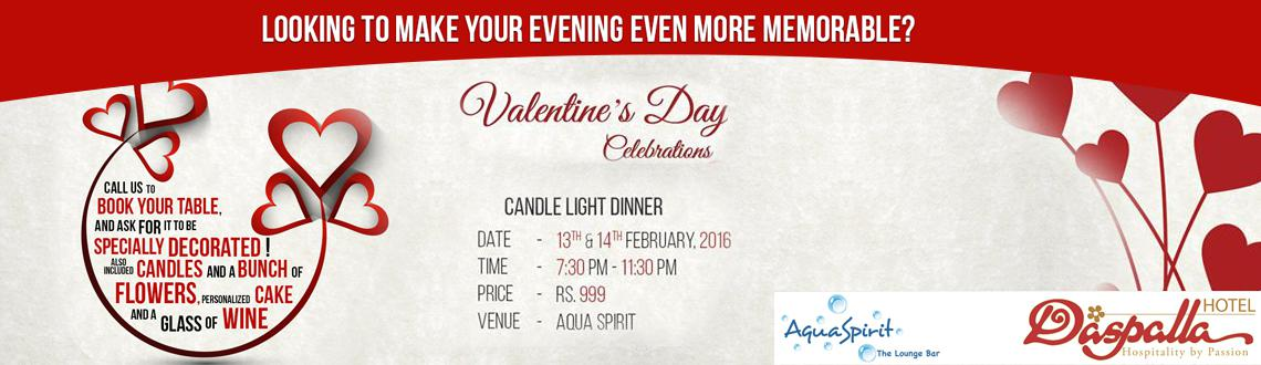 Book Online Tickets for Valentines Day Dinner Buffet at Daspalla, Hyderabad. Valentines Day Dinner Buffet at Daspalla.