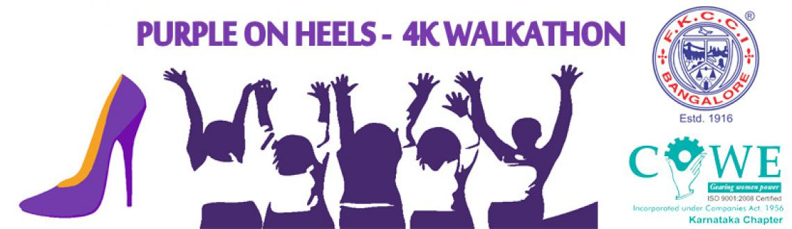 Book Online Tickets for Purple On Heels - 4k WALKATHON , Bengaluru. We say by Pledging For Parity!Everyone - men and women - can pledge to take a concrete step to help achieve gender parity more quickly - whether to help women and girls achieve their ambitions, call for gender-balanced leadership, respect and value d