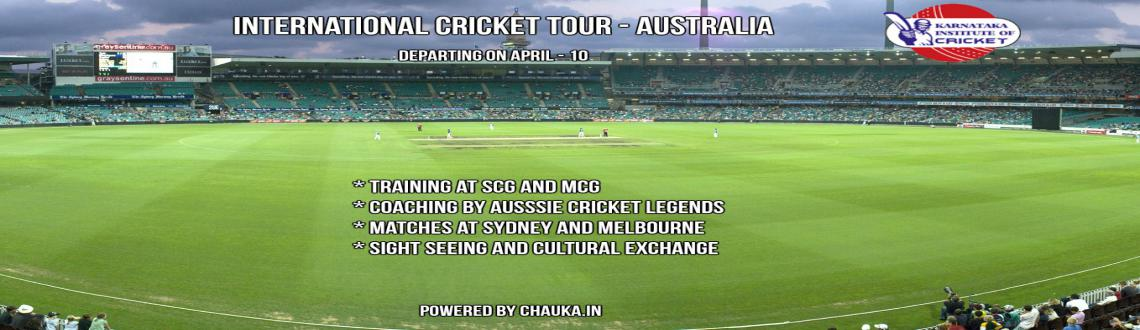 International Cricket Tour to Australia