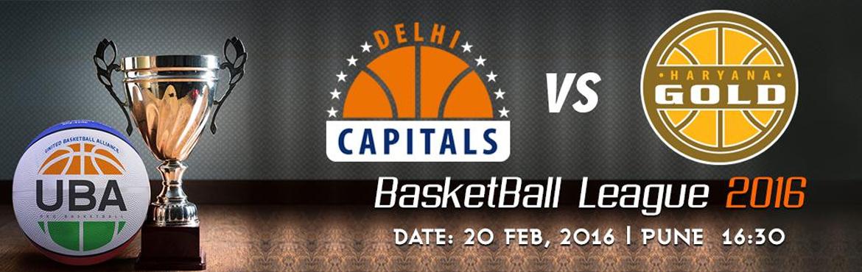 UBA Season 2 - Delhi Capitals Vs Haryana Gold