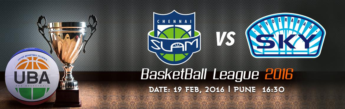 Book Online Tickets for UBA Season 2 - Chennai Slam Vs Hyderabad, Pune. UBA Season 2