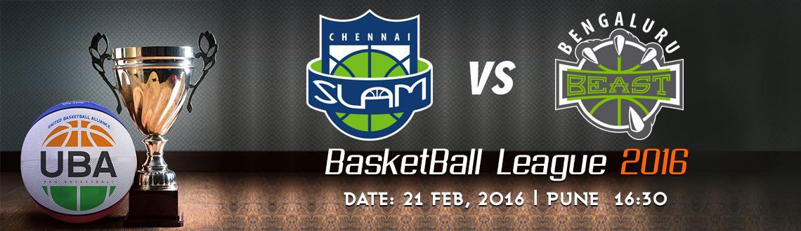 UBA Season 2 - Chennai Slam Vs Bengaluru Beast
