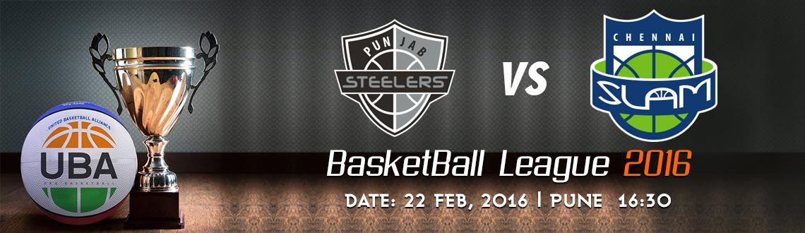 Book Online Tickets for UBA Season 2 - Punjab Steelers Vs Chenna, Pune. UBA Season 2