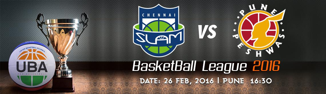 Book Online Tickets for UBA Season 2 - Chennai Slam Vs Pune Pesh, Pune. UBA Season 2