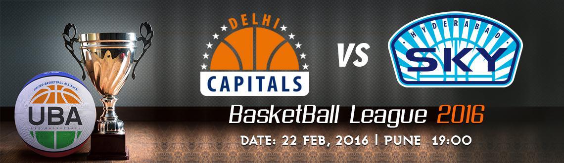 UBA Season 2 - Delhi Capitals Vs Hyderabad Sky