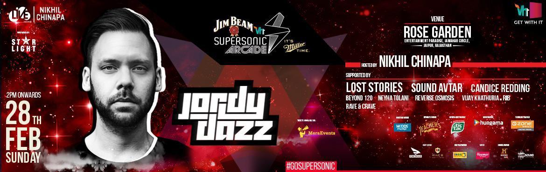 Vh1 Supersonic Arcade Jordy Dazz