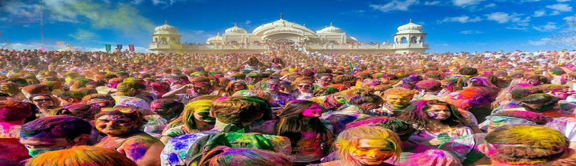 Book Online Tickets for  Lath Maar Holi, Mathura. Lath Maar Holi is a local celebration of the Hindu festival of Holi. It takes place days before the actual Holi in the neighbouring towns of Barsana and Nandgaon near Mathura. Legend has it that Lord Krishna visited his beloved Radha\\\'s villag