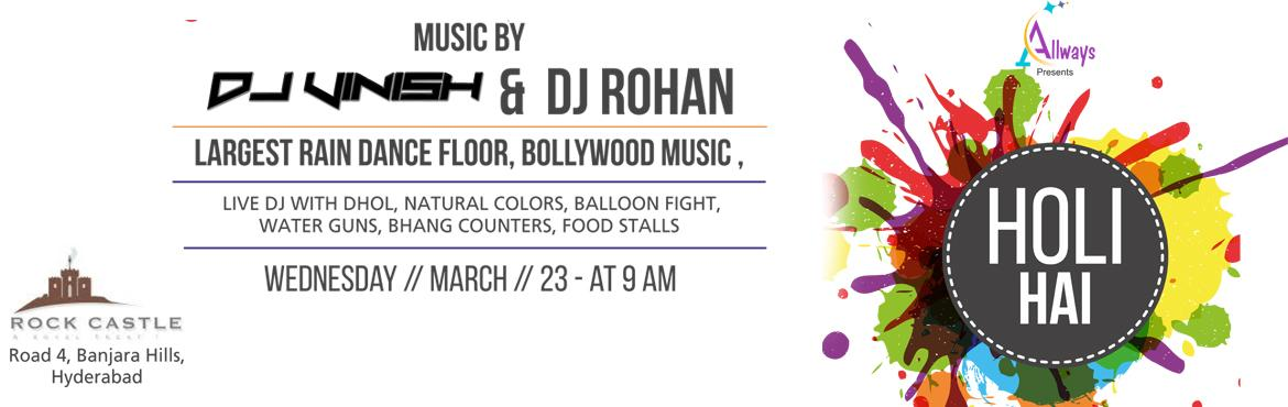 HOLI HAI at Rock Castle