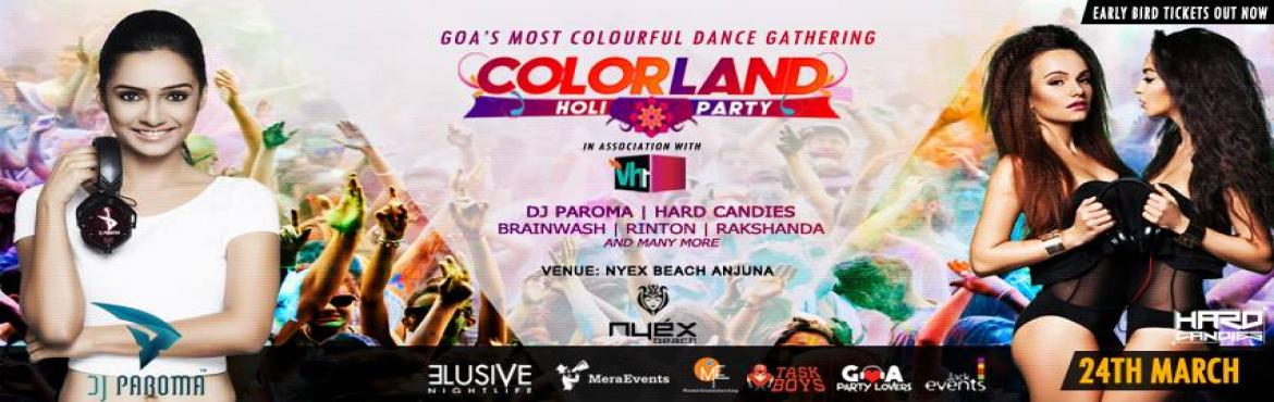 Colorland Goa. Holi Party